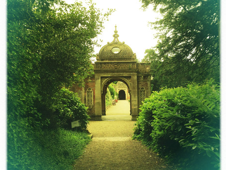 Entrance to The Italian Gardens at Westonbirt School