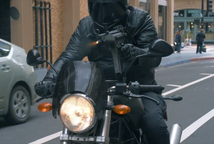 Motorbike Shooting MP5