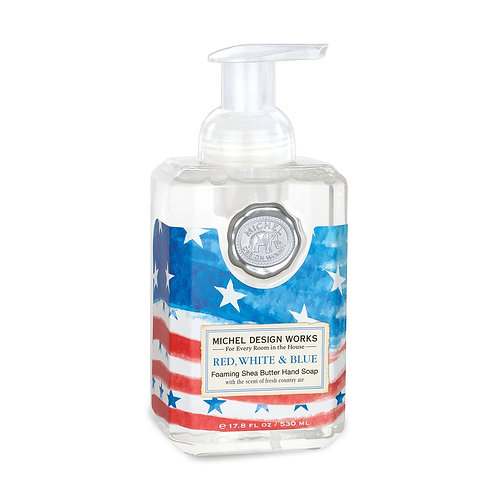 Red, White, & Blue Foaming Hand Soap