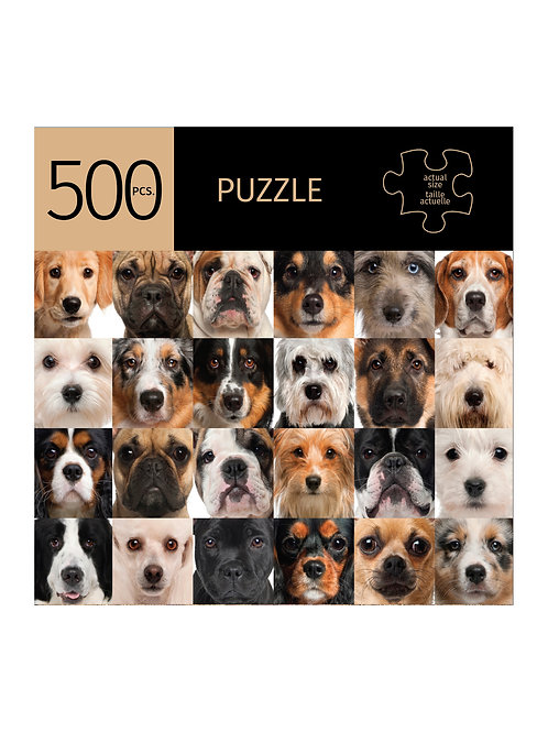 500 Pc. Puzzle - Dogs