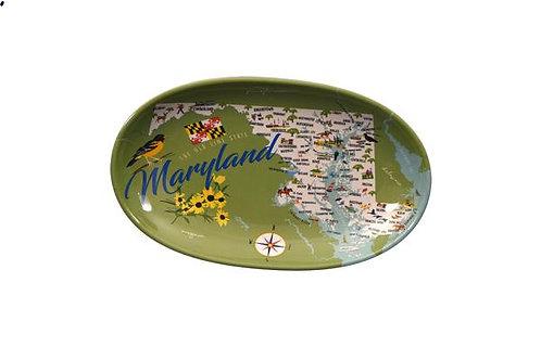 Maryland Melamine Tidbit Trays - Set of 4