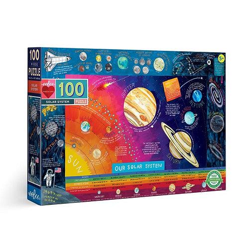 100 Pc. Puzzle - Solar System