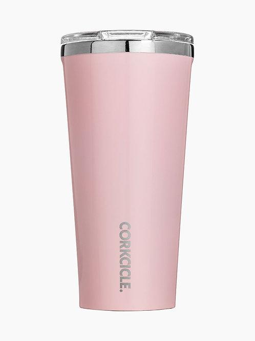 Corkcicle 16 oz Tumbler - Rose Quartz