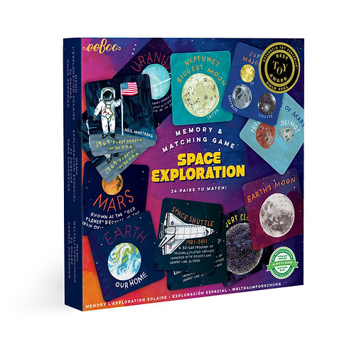 Memory & Matching Game - Space Exploration