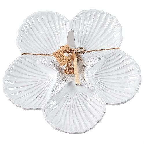 Shell Sectional Platter & Spreader
