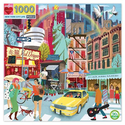 1000 Pc. Puzzle - New York City Life