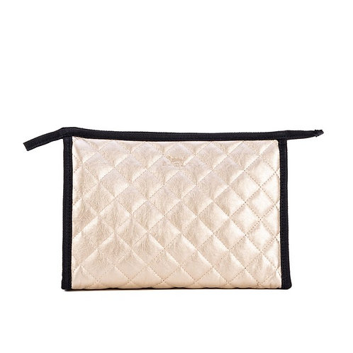 Audrey Pouch - Quilted Gold