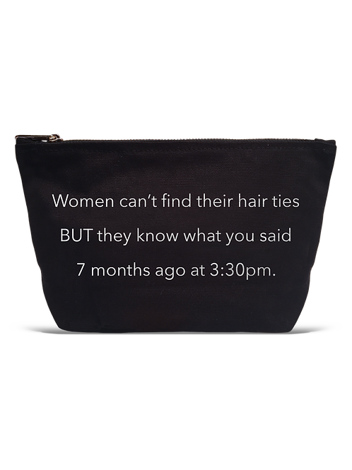 Hair Ties LA Trading Co Pouch