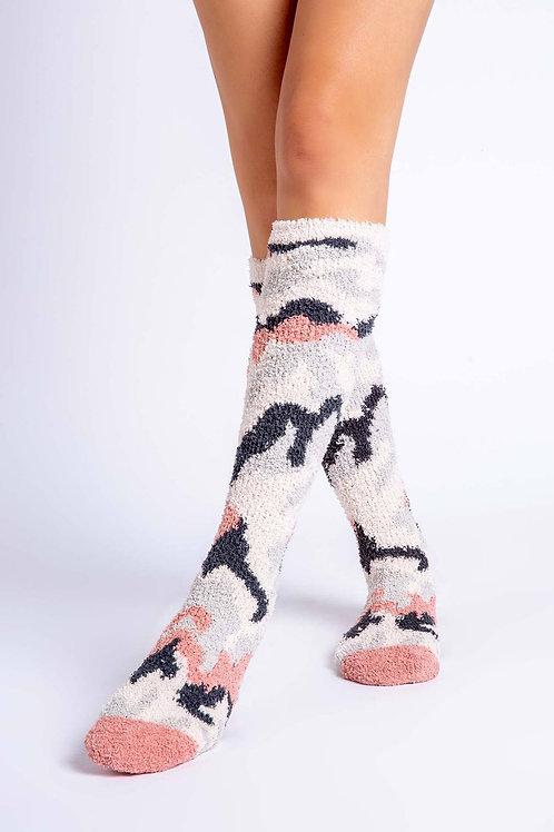 Knee High Follow The Stars  Camo Socks (PJ Salvage)
