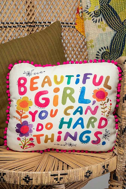 Beautiful Girl Pillow