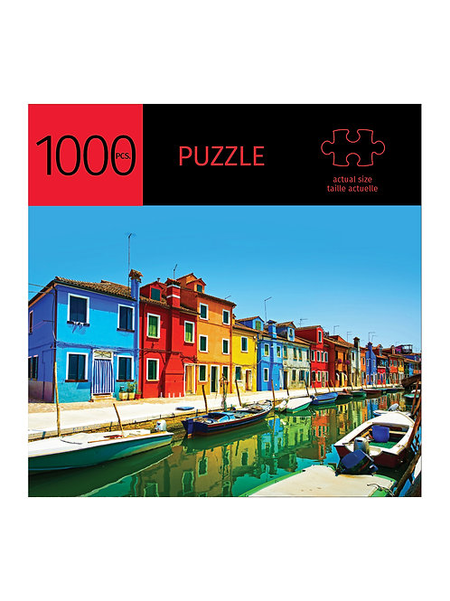 1000 Pc. Puzzle -Canal