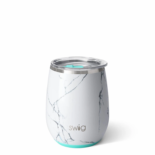 Swig 14 oz Stemless Wine - Marble Slab