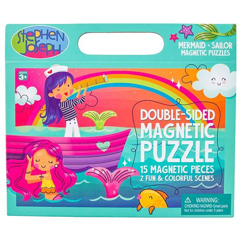Mermaid Double Sided Magnet Puzzle