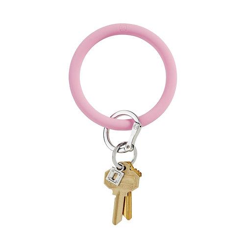 Big O Keyring - Pastel Pink