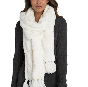 Barefoot Dreams Ivory Scarf