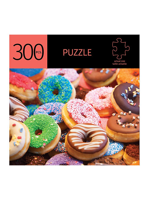 300 Pc. Puzzle - Donuts