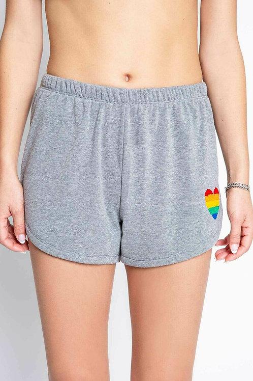Grey Heart Shorts (PJ Salvage)