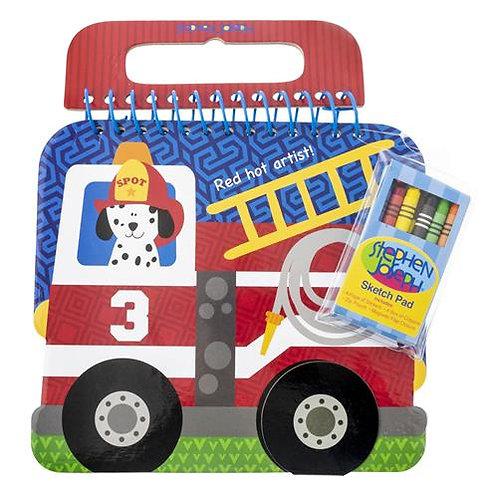 Fire Truck Sketch Pad