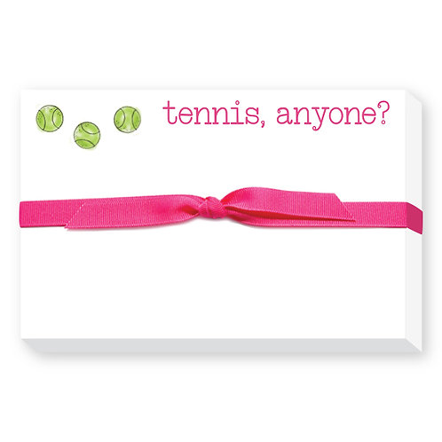 Tennis Anyone Notepad