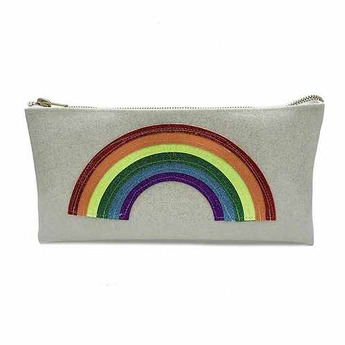 Rainbow Cosmetic Bag/Clutch