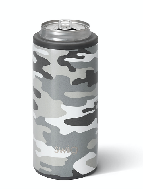 Swig 12 oz Skinny Can Cooler - Camo