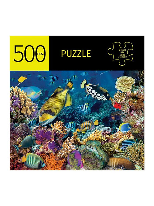 500 Pc. Puzzle -Coral Reef