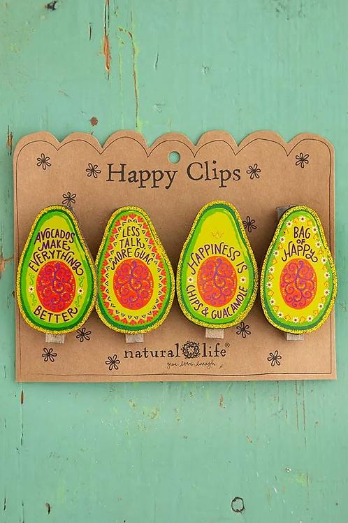 Natural Life Magnet Clips - Avocado