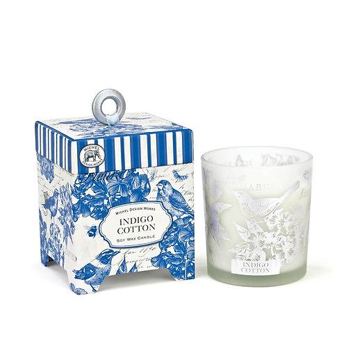 Boxed Candle - Indigo Cotton