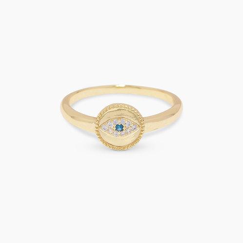 Gorjana Gold Evil Eye Ring
