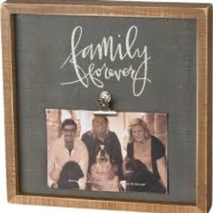 Box Picture Frame - Family Forever