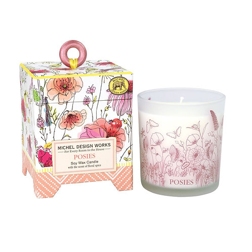 Boxed Candle - Posies