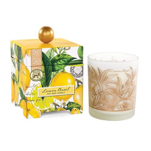 Boxed Candle - Lemon Basil