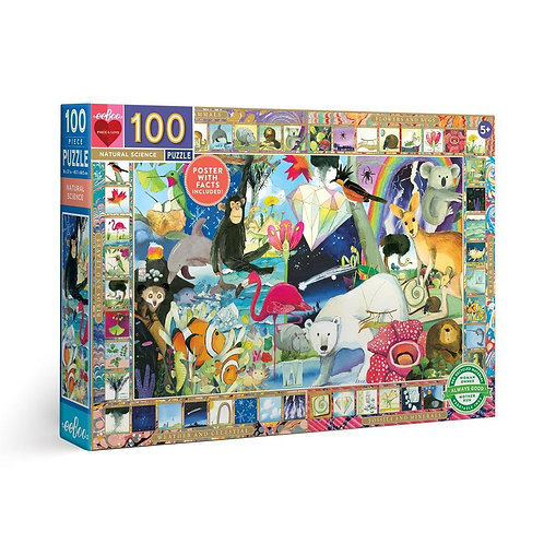 100 Pc. Puzzle - Natural Science
