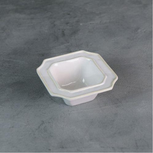 Melamine Charleston Small White Bowl