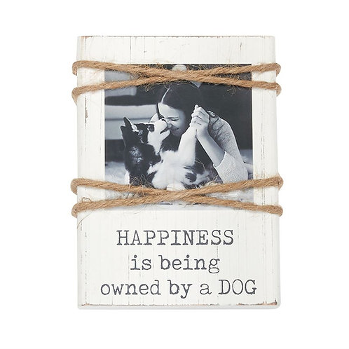 Happiness Dog Twine Pet Frame