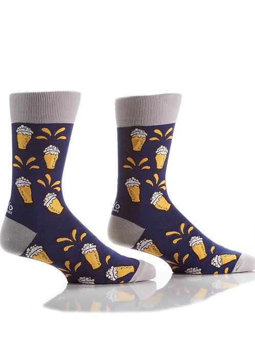 Men's Socks -Beer