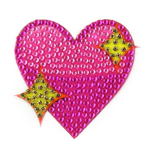 Sparkling Heart Stickerbean