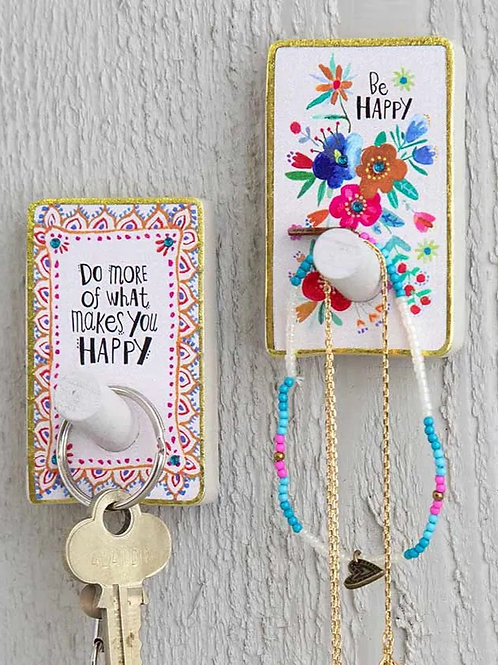 Natural Life Happy Hooks (Set of 2)