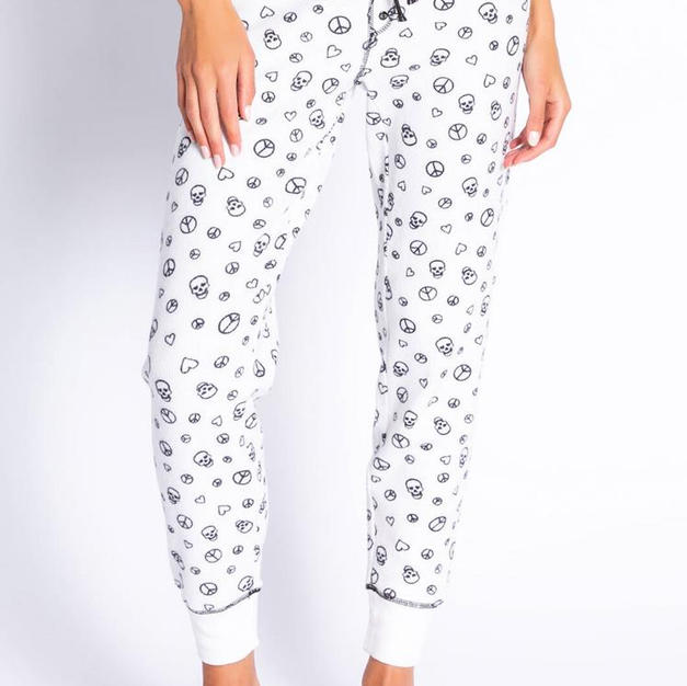 PJ Salvage Peace & Scull Pants