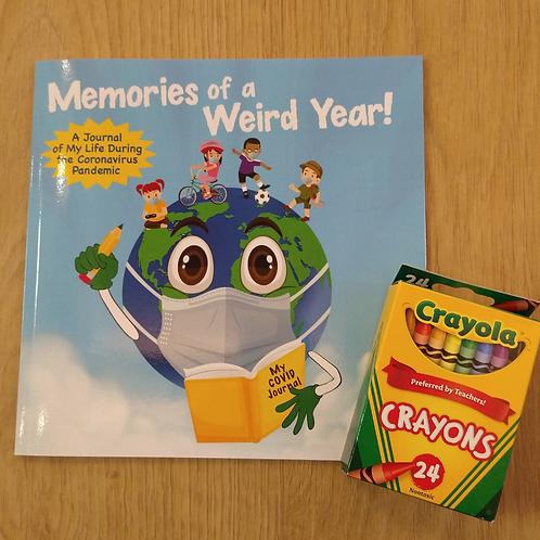 Memories Of A Weird Year & Crayons Gift Set