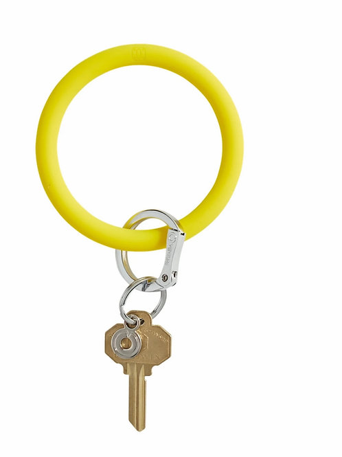 Big O Keyring - Yellow