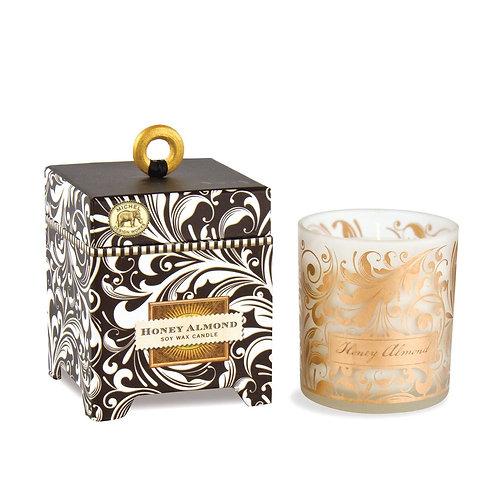 Boxed Candle - HoneyAlmond