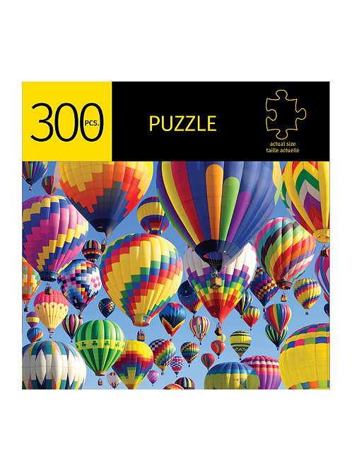 300 Pc. Puzzle - Hot Air Balloons