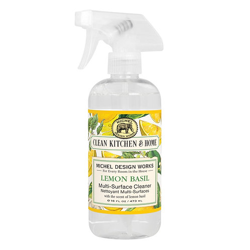 Michel Design Multi-Surface Cleaner - Lemon Basil