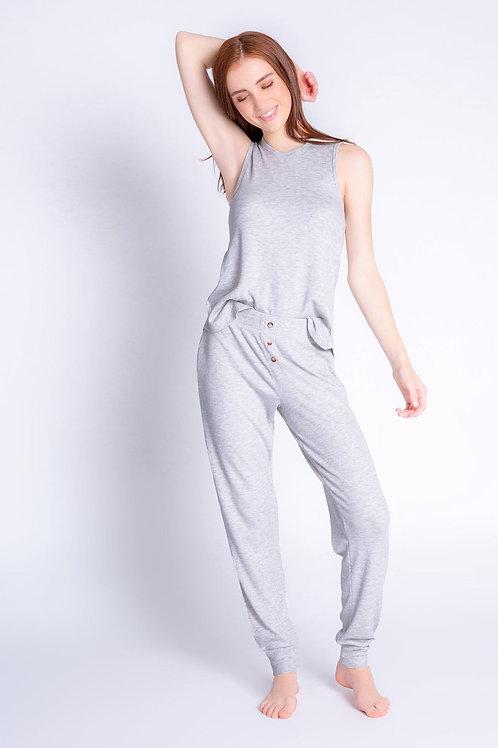 Gray Textured Lounge Jammie Pants (PJ Salvage)