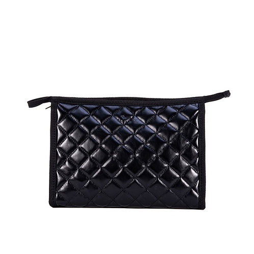 Audrey Pouch - Quilted Black
