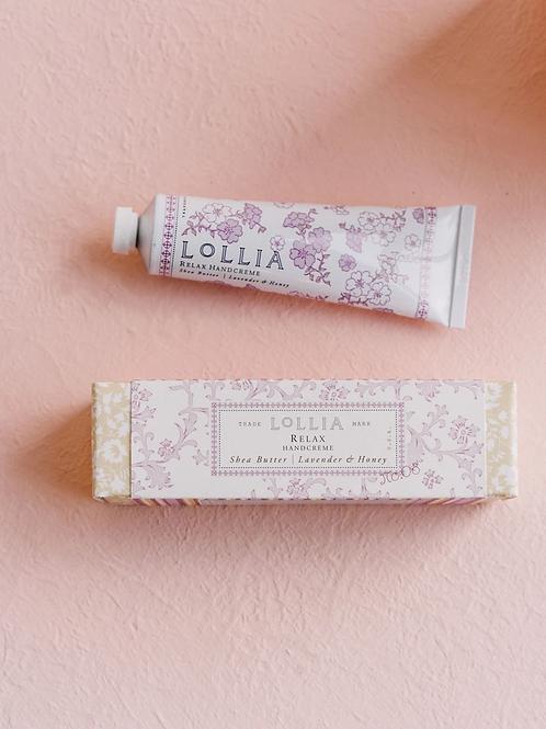 Lollia Handcreme Travel Size - Relax