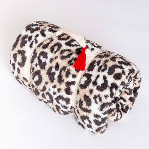 Leopard Sherpa Blanket