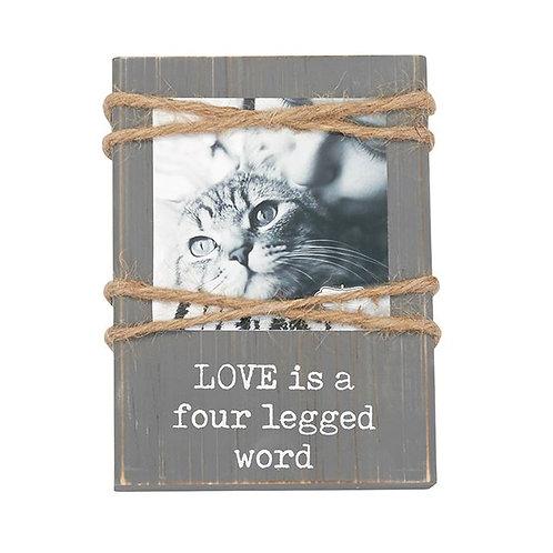 Love Twine Pet Frame