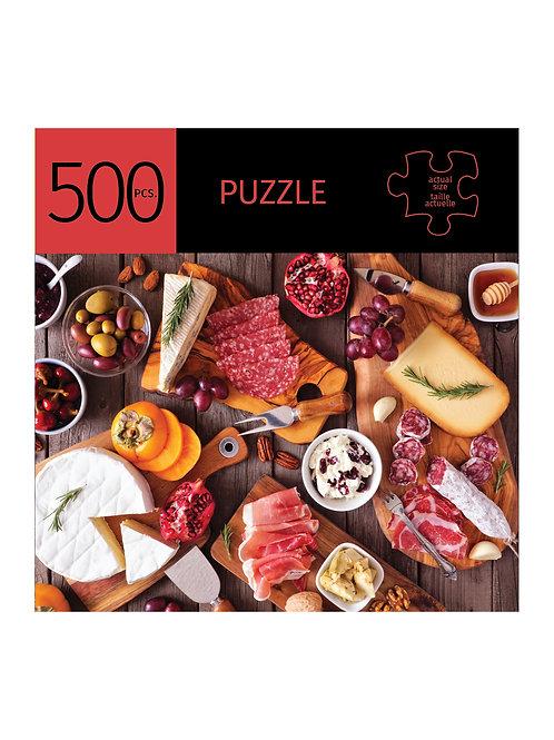 500 Pc. Puzzle - Charcuterie